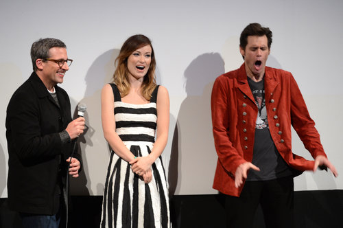 Olivia Wilde, Steve Carell, and Jim Carrey had a laugh during their SXSW Q&A.