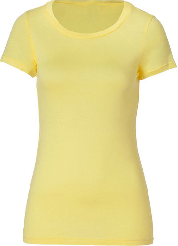 Splendid Lemoncello Crew Neck Jersey T-Shirt