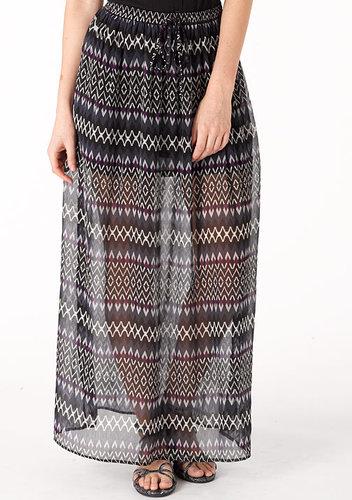 Sheer Maxi Skirts