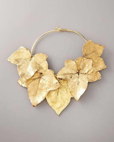 Aurelie Bidermann Ivy Leaf Necklace