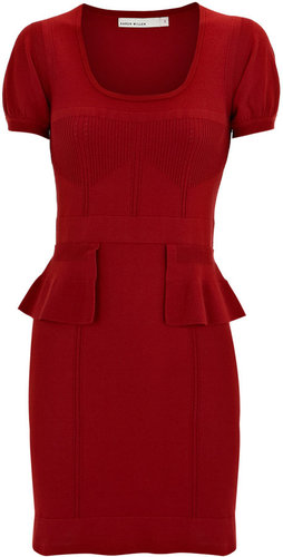 Peplum Knit Dress
