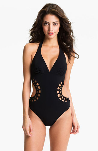 Profile by Gottex V-Neck Halter Monokini