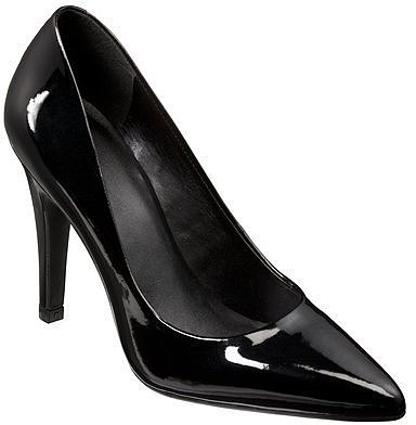 Women's Mossimo® Palma Pumps - Black Patent
