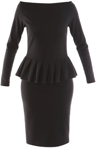Osman Jersey peplum dress