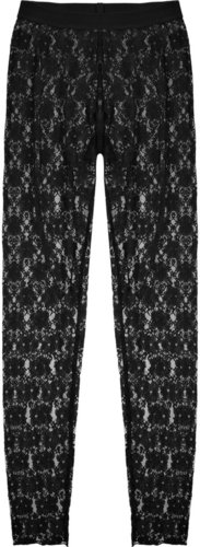 By Malene Birger Luono sheer floral-lace leggings