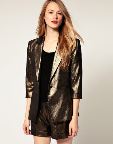 Ted Baker Metallic Tailored Blazer