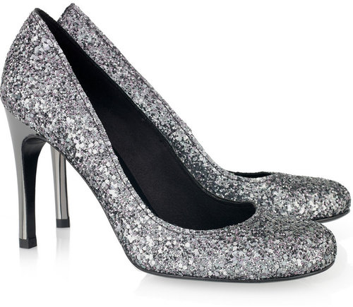 Pedro Garcia Xio glitter pumps