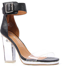Jeffrey Campbell The Soiree Shoe in Black and Clear