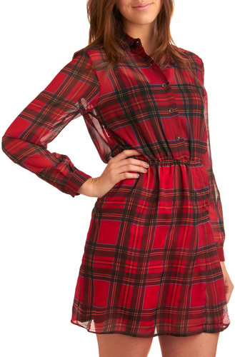 Remember the Tartans Dress