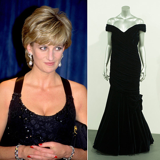 Iconic Style For Sale : Princess Diana's Dresses Go Up For Auction