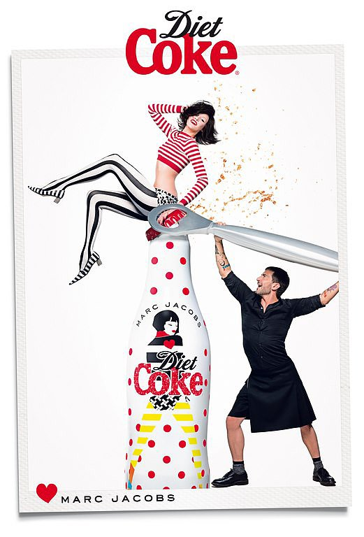 Marc Jacobs For Diet Coke