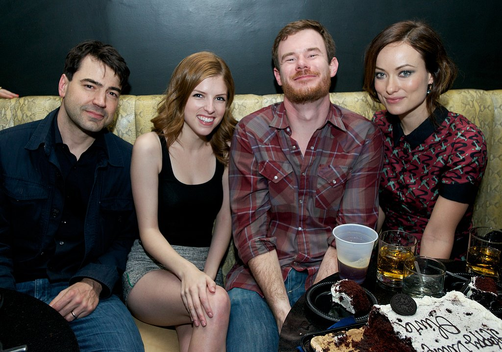 Anna Kendrick and Olivia Wilde had fun with their costars Ron Livingston and Joe Swanberg at the Drinking Buddies afterparty at SXSW.