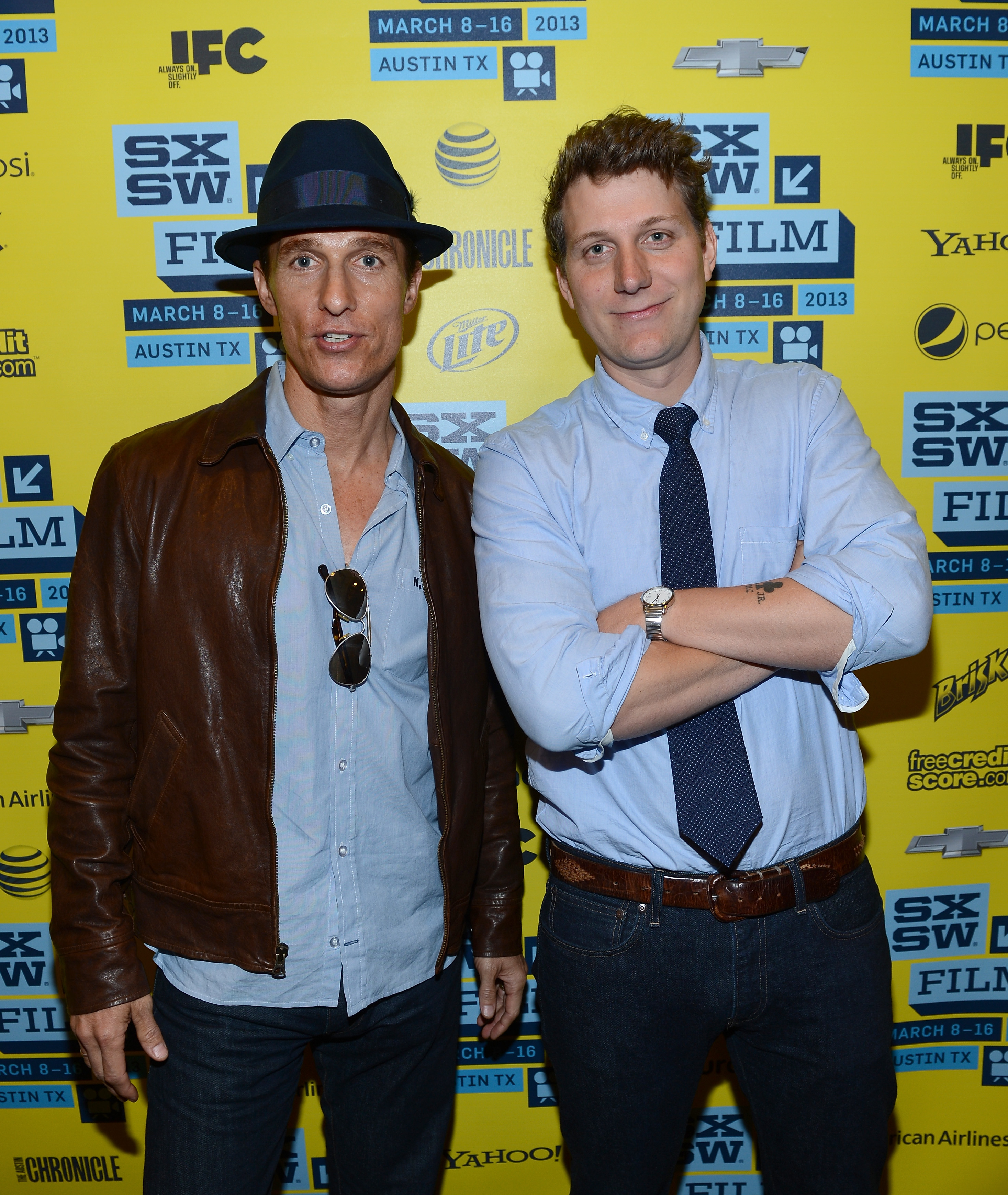 Matthew McConaughey and Jeff Nichols attended the Mud screening at SXSW.