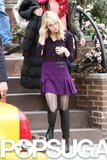 Emma Stone shot The Amazing Spider-Man 2.
