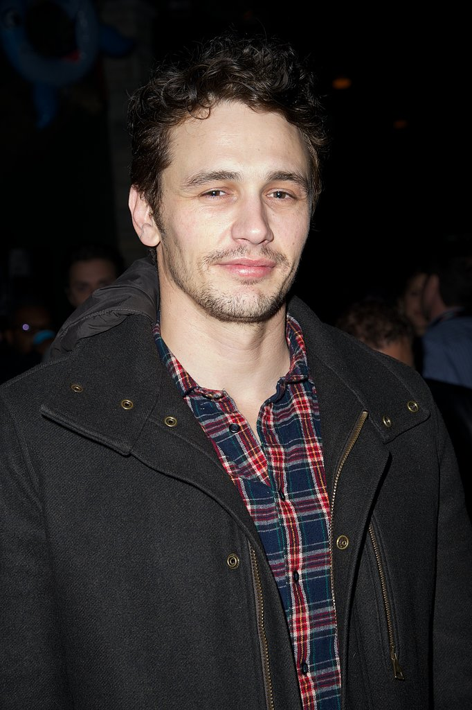 James Franco gave a smile during the afterparty.