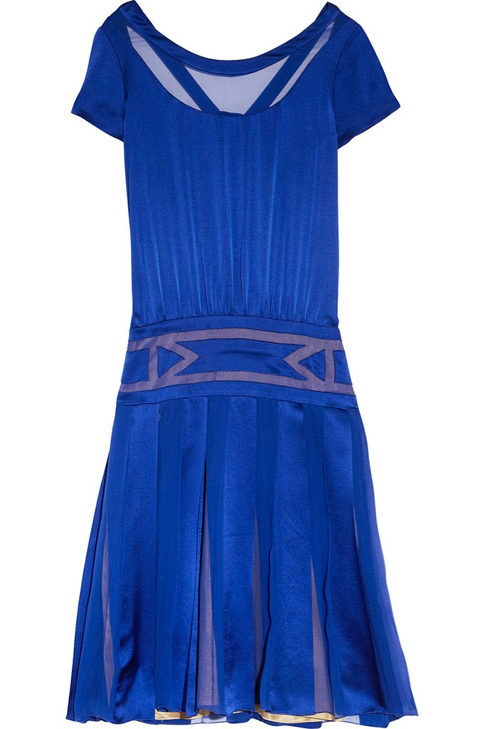 Alberta Ferretti pleated silk-satin dress ($374, originally $2,495)
