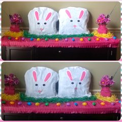 Spring Forward:  Easy DIY Easter Display