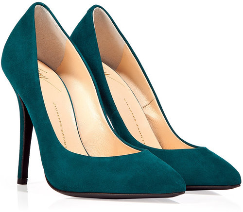 Giuseppe Zanotti Lagoon Suede Pumps
