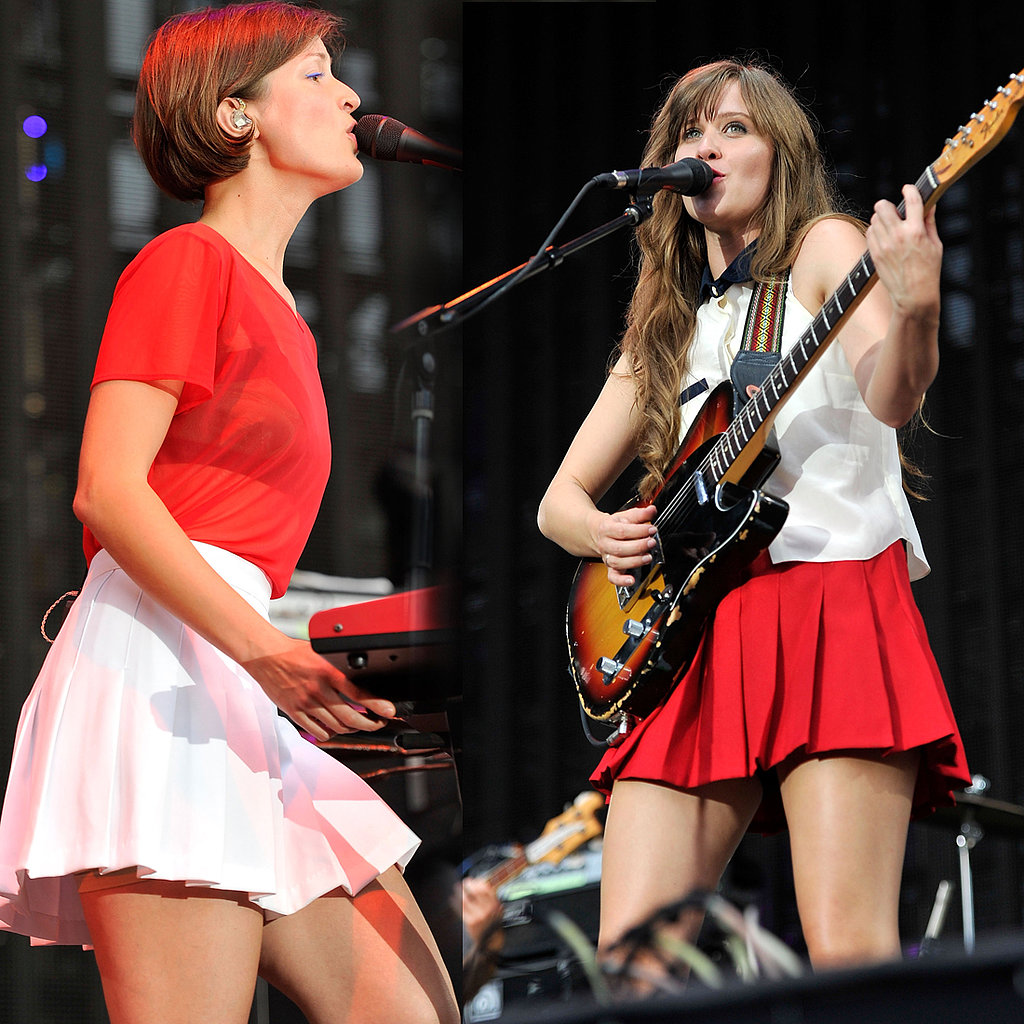 Amber Coffman and Olga Bell of The Dirty Projectors