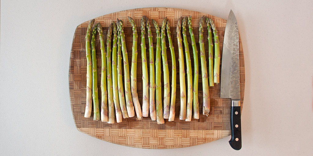 Quick Tip: Prep Asparagus in a Flash