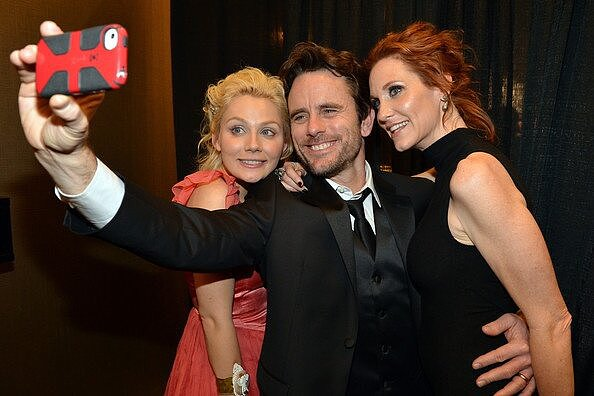 Nashville's Clare Bowen shared a picture of a picture. Source: Twitter user clarembee