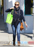 Reese Witherspoon Goes Green on a Friendly Juice Run