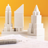 Made a mistake and need to erase something? These handy skyline erasers ($16) in the shape of three NYC buildings will do the trick.