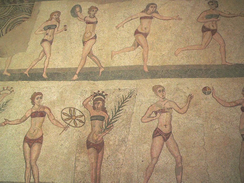 The Bikini Girls, 4th Century AD