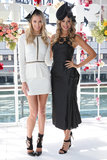 Jennifer Hawkins and Laura Dundovic