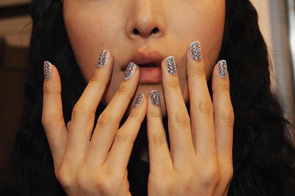 Do try nail art, even if it's only with an accent nail. There's a look for even the most conservative workplaces.