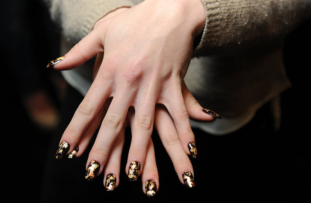 Do combine various types of nail art in one design. Using polish, decals, and 3D elements like rhinestones together will add dimension to your nail art.