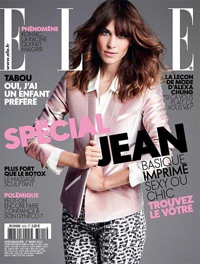 Elle France April 2013