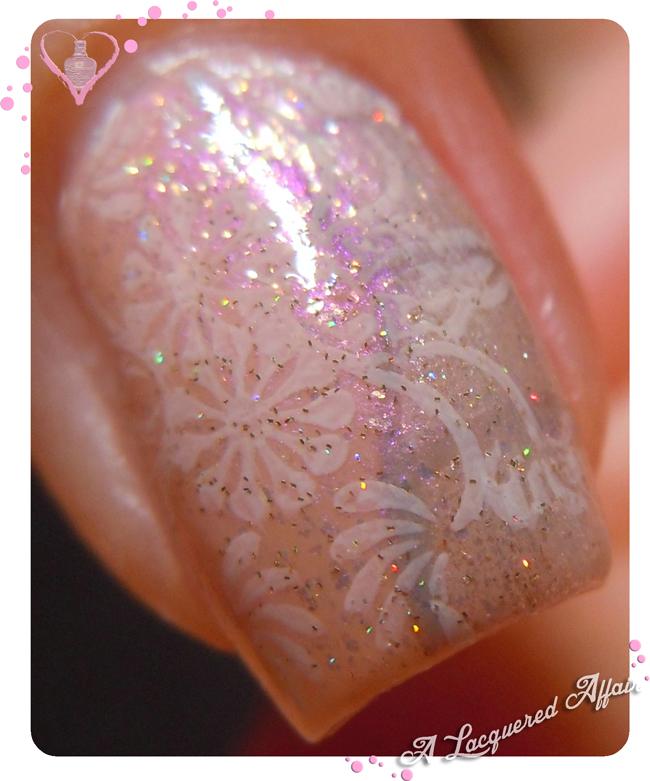 Kebaya-inspired nail art for Polish Days Vintage
