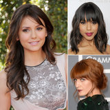 If you're looking for a change but don't want a new cut or color, why not try bangs? From blunt to wispy, there's a bang style here for everyone.