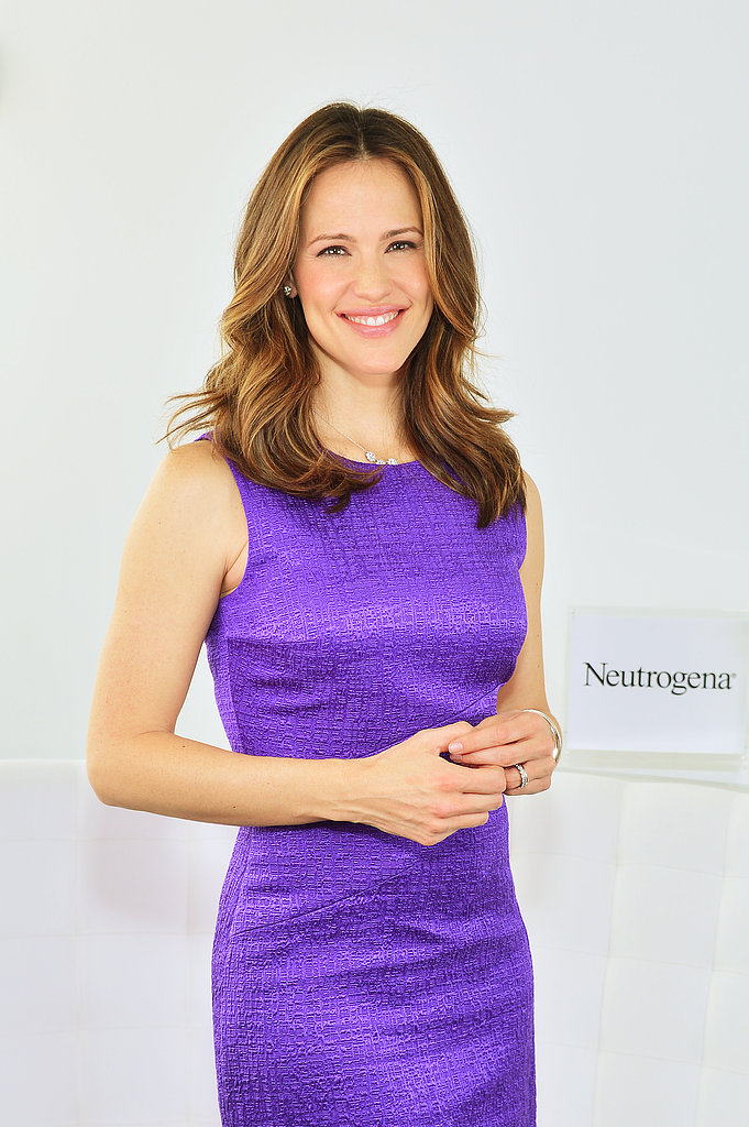 Jennifer Garner attended Neutrogena's Sun Summit in NYC.