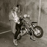 Beyoncé gets all revved up! Source: Instagram user baddiebey