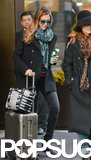 Jessica Alba Bids Farewell to the Big Apple