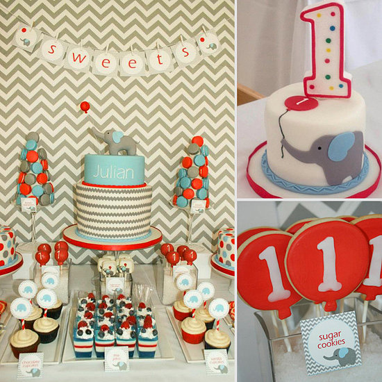 1st birthday party decorations pictures for Balloon decoration ideas for 1st birthday