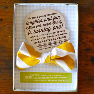 Bow-Tie First Birthday Party For Boys