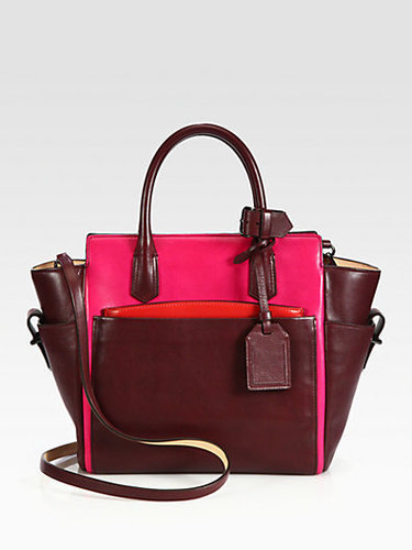 Reed Krakoff Atlantique Mini Colorblock Satchel