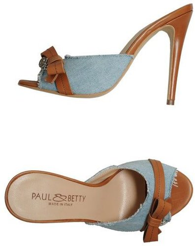PAUL & BETTY High-heeled sandals