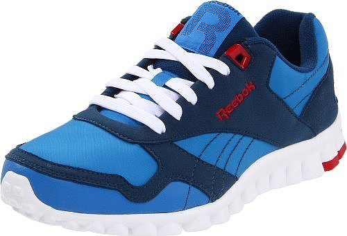 Reebok Women&#039;s RealFlex Racer Lace-Up Fashion Sneaker