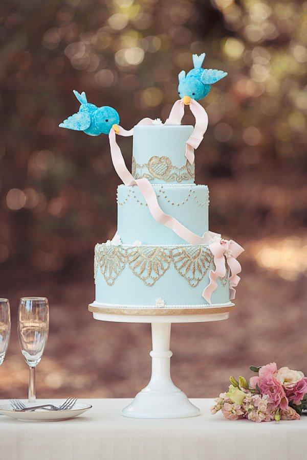Cinderella Bird Cake