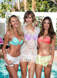 Sexy Angels Slip Into Bikinis to Debut VS' New Swim Line