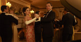 Alison Brie and Vincent Kartheiser on Mad Men.