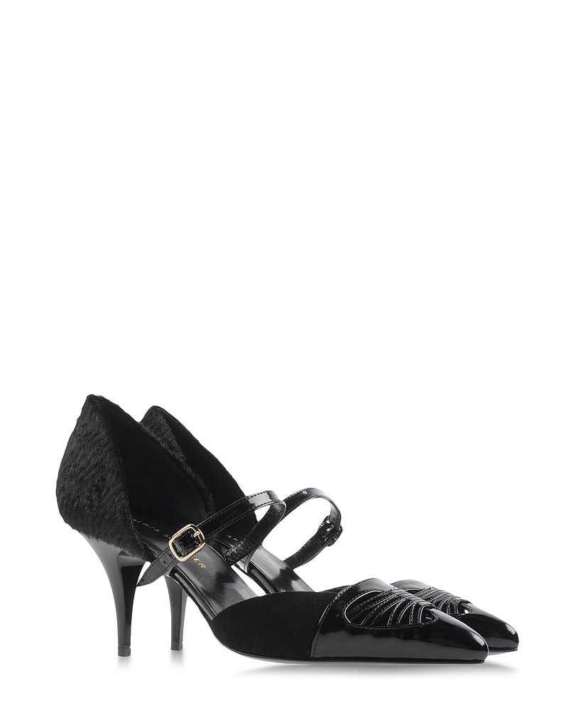Proenza Schouler's pumps ($278, originally $690) showcase a chic, walkable heel and off-kilter Western detailing.