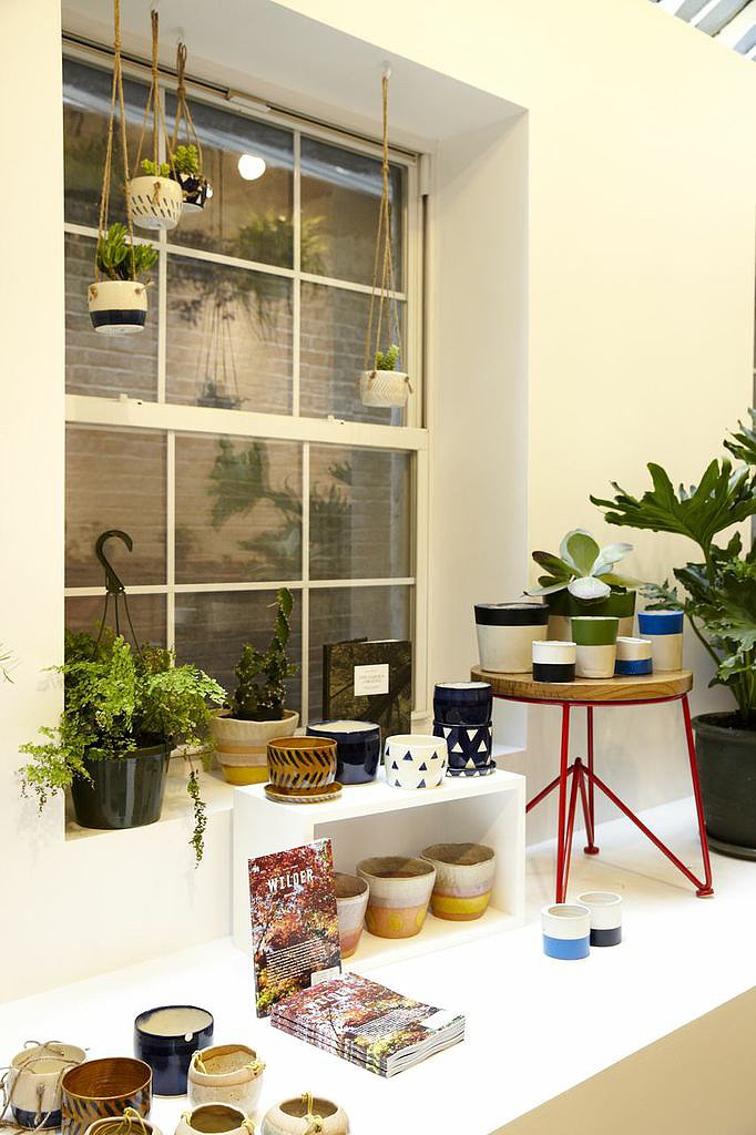Gardening tools and accessories are part of the store's diverse offerings.
