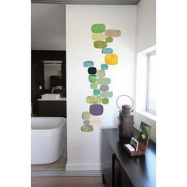 Blik Wall Decals: Verdant Flow by Rex Ray