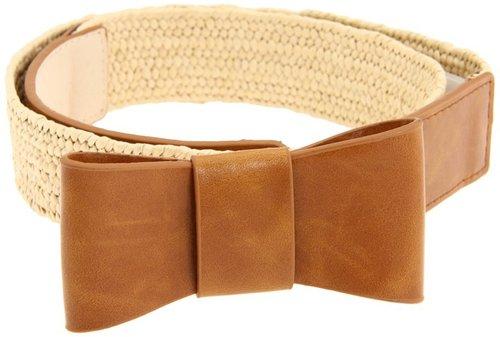 Big Buddha - Stretch Bow Belt (Cognac) - Apparel