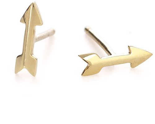 Adina Reyter Tiny Arrow Studs